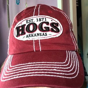 Accessories - Arkansas razorbacks cap